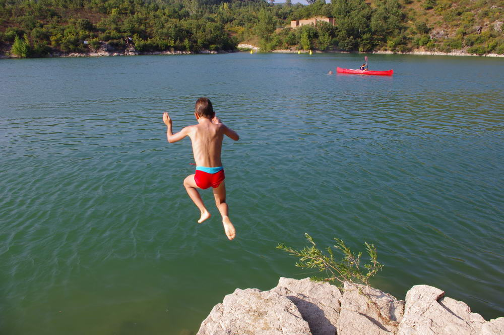 Lac de Saint Cassien 2